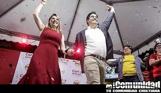 Pastor evangélico Fabricio Alvarado gana la primera ronda elecciones presidenciales en Costa Rica