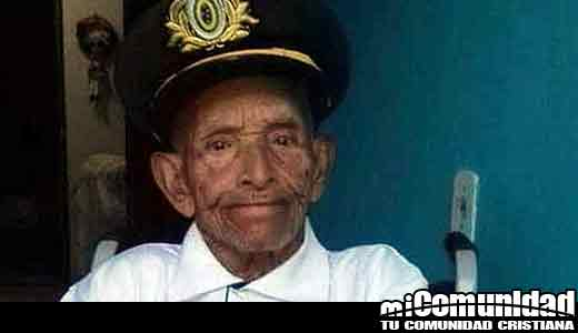 Uno de los hombres mayores de Brasil cumple 117 años