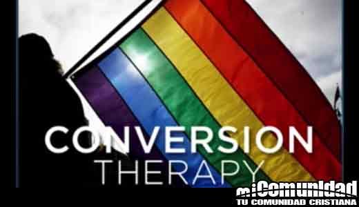 """California: """"Hacer publicidad, ofrecer participar o involucrarse en esfuerzos de cambio de orientación sexual con un individuo"""""""