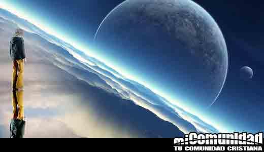 ¿Podra la gente en el cielo mirar hacia abajo y vernos?