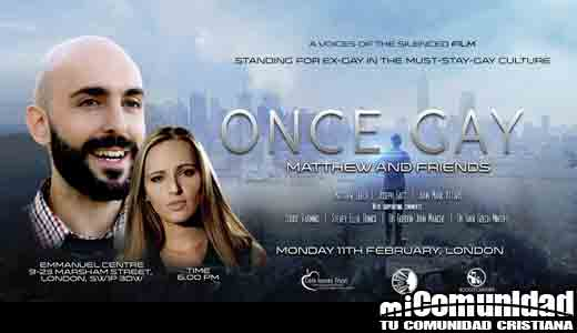 'Once Gay', documental gay sobre la terapia de curación para la homosexualidad