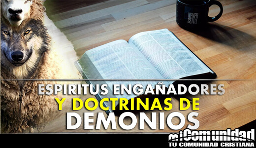 What are the doctrines of demons in 1 Timothy 4: 1?
