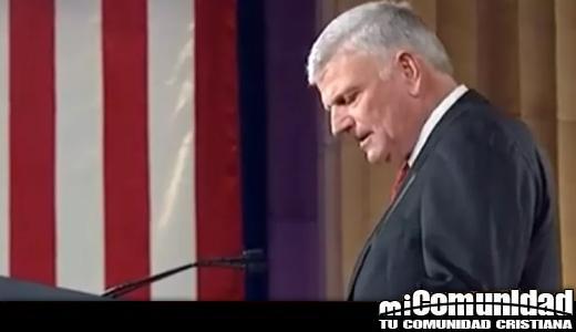 12,400 cristianos firman una petición para destituir a Franklin Graham como presidente de Samaritan's Purse