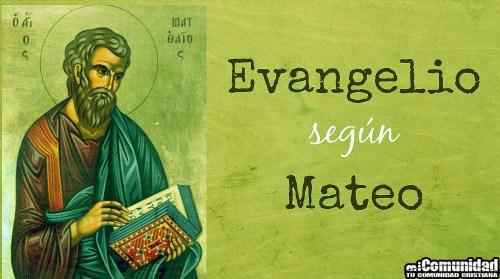 Estudio Del Nuevo Testamento: Evangelio de Mateo