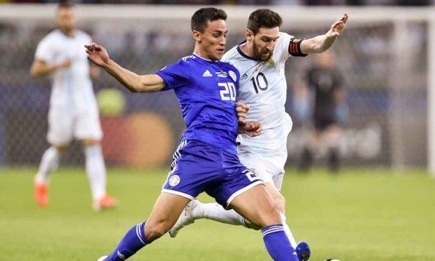 Vibrante e intenso empate entre Argentina y Paraguay