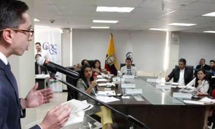 Consejo de Participación Ciudadana busca investigar los mandatos del CPCCS Transitorio