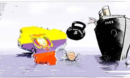 Programa del FMI podría desembocar en una recesión en Ecuador, según estudio.