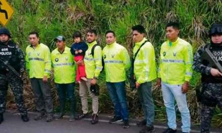 Niña secuestrada en Quito fue hallada en la provincia de Orellana.