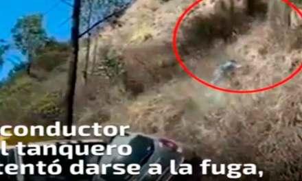 Tanquero invade carril y causa la muerte de conductora.