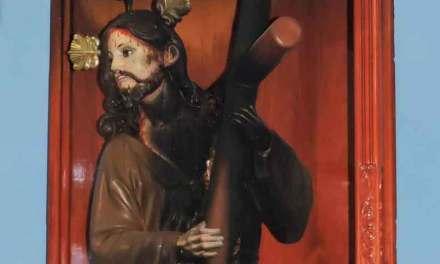 Intentaron quemar imagen de Jesús del Gran Poder en Ambato