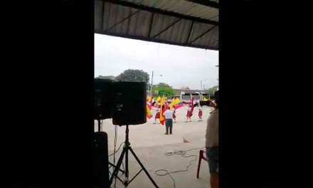 Polémico Juramento de Bandera en colegio de Chone