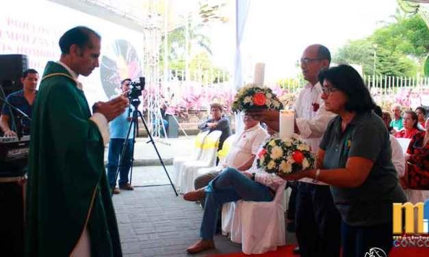 Con Misa de acción de gracias y minuto cívico, se conmemoró los 60 años de Fundación de La Concordia.