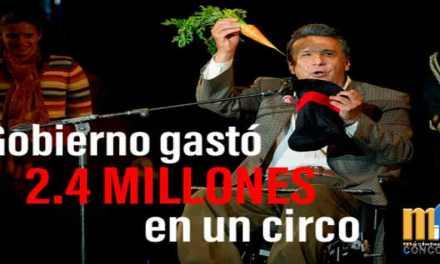 Lenin gasta USD 2,4 millones en un circo sobre hielo