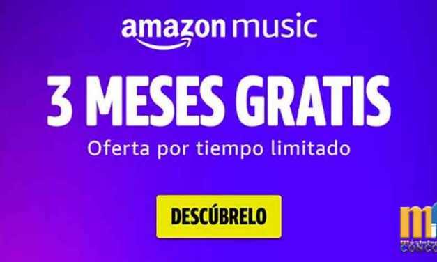 Eres amante de la música prueba Amazon Music.
