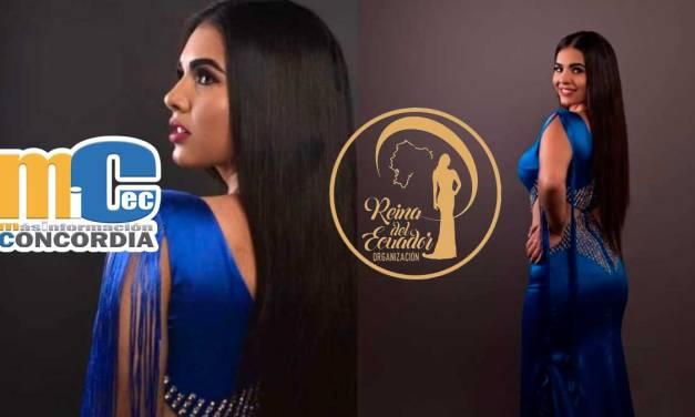 Maria Sol Mendoza Zambrano candidata a Reina del Ecuador 2020