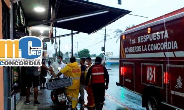 cUERPO DE BOMBEROS LA CONCORDIA ATENDIÓ VARIAS LLAMADAS DE AUXILIO