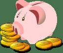 Finanzas personales alcancía cerdito