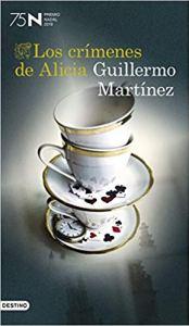 Libro Los crímenes de Alicia, de Guillermo Martínez