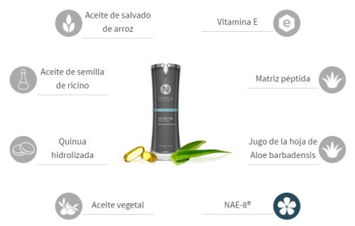 Nerium Crema de noche ingredientes