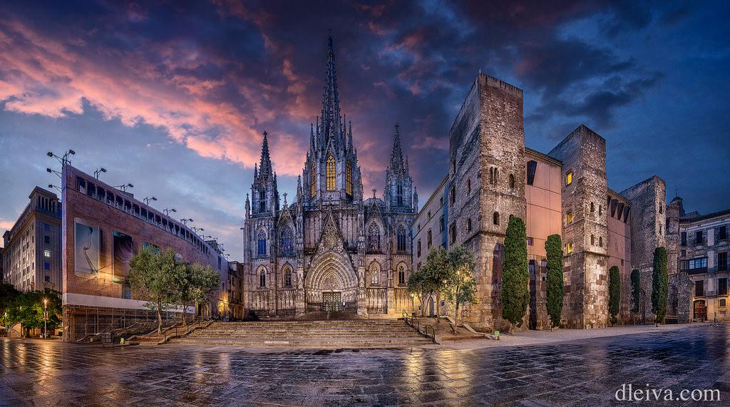 Barcelona: Catedral de la Santa Cruz y Santa Eulalia de Barcelona