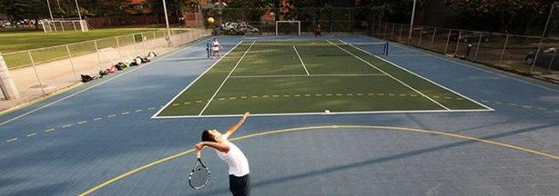 Cancha de Tennis EAFIT