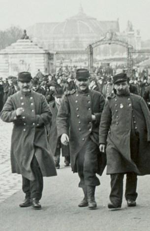 Les Invalides Soldiers