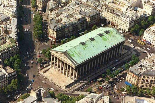 París: Iglesia de la Madeleine (Église de la Madeleine)
