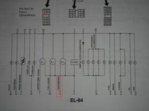 Wiring Diagrams of Gauge Cluster  Cisco's Micra Files