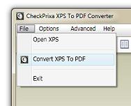 XPS To PDF Converter