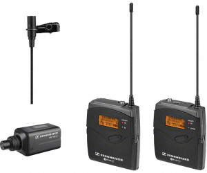 Not for the beginners, but a nice wireless lav system nonetheless