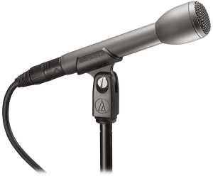 Another handheld microphone great for sportscasters or reporters