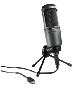 A high-quality USB microphone for podcasts