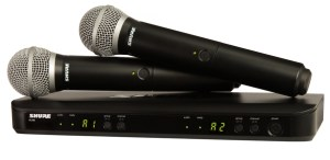 Another one of Shure's best wireless microphone systems