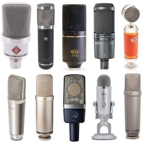 Condenser microphones have more power and better quality than USB (usually)