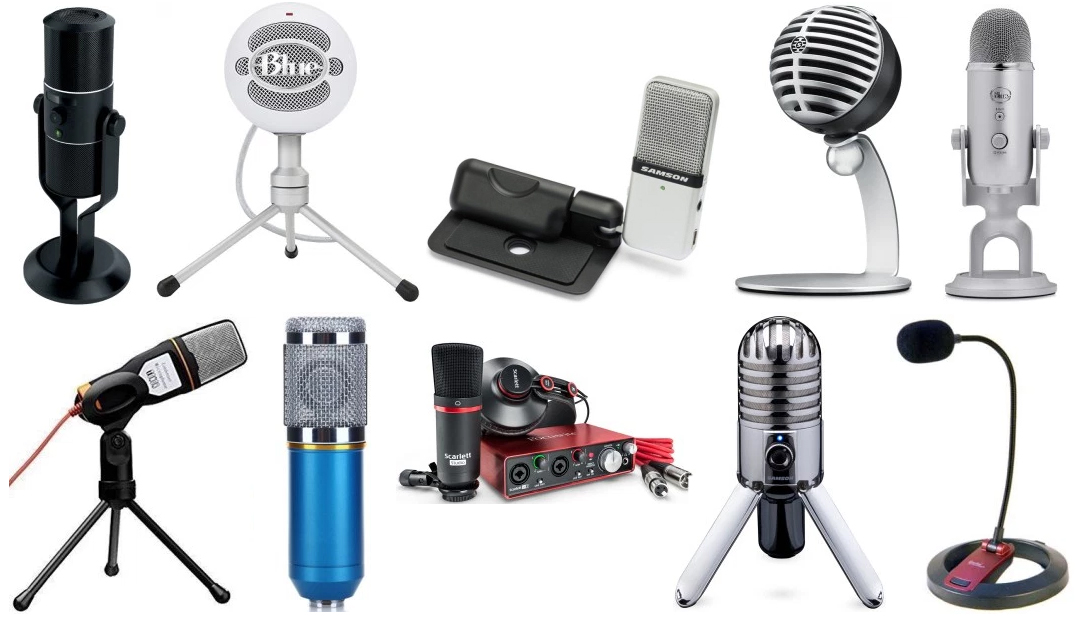 Consumer Electronics Friendly New Portable Studio Speech Mini Usb Professional Hand Free Microphone With Stand Micphone Holder For Computer Gaming Pc Laptop Live Equipment