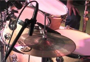 Our few tips with miking cymbals