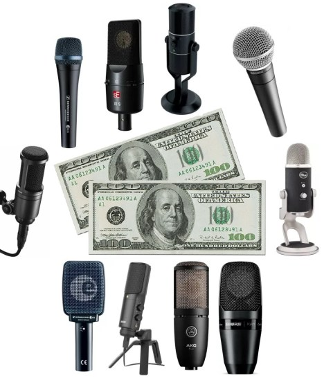 A detailed review of the best microphones under 200 dollars or less