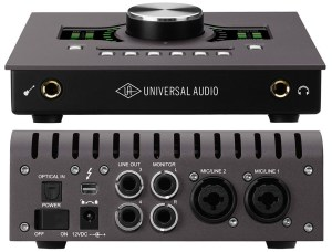 An extremely powerful audio interface by UA