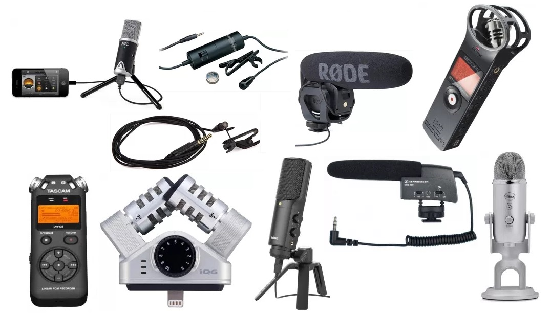 Use With Cameras Stereo Microphone For Vloggers // Interviews Phone DSLR