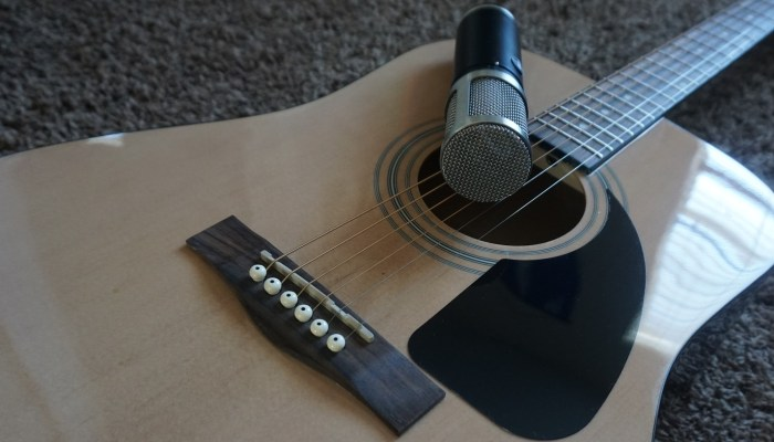 Microphone Recording Techniques for Popular Instruments