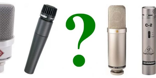 Explained: The Different Microphone Types