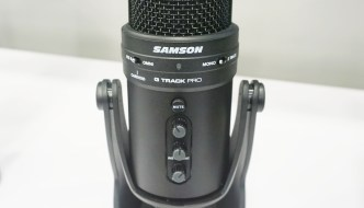 We review the Samson G-Track Pro USB microphone