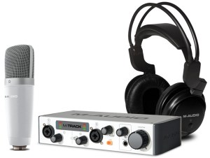 Another one of the best microphone bundles by M-Audio