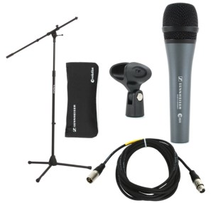 The last package for microphones we'll recommend