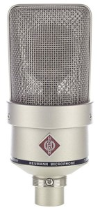 A high-end voice over microphone here