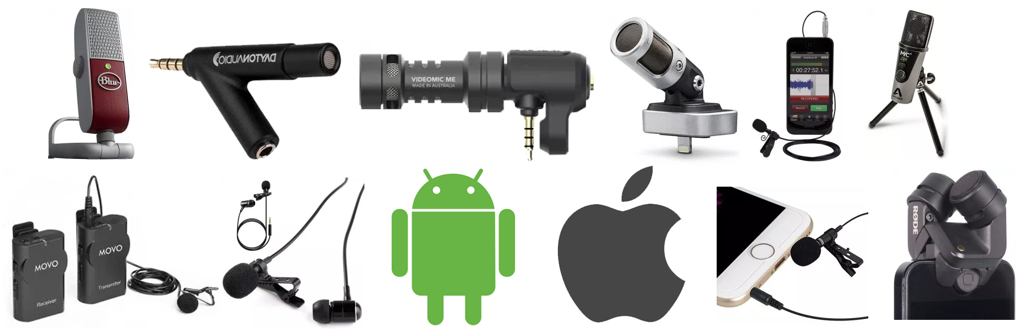 The Top 10 Best Microphones For Smartphones Mic Reviews