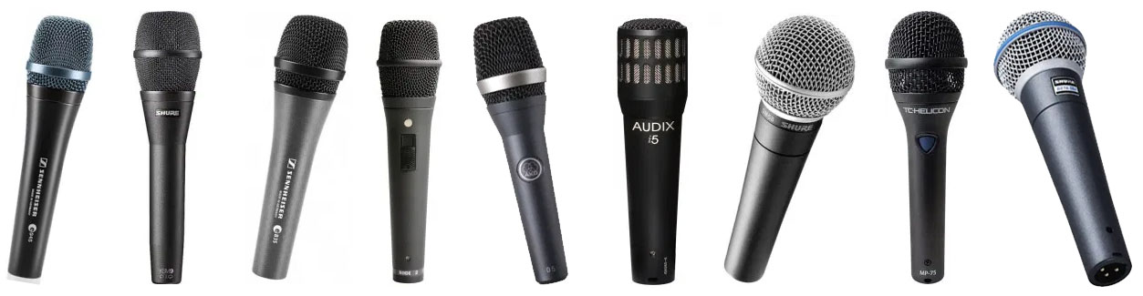 We found the best microphones for live stage use