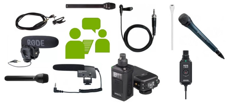 Review of the 10 best microphones for interviews