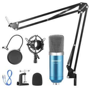 The best USB microphone under $50 if you need a traditional mic setup