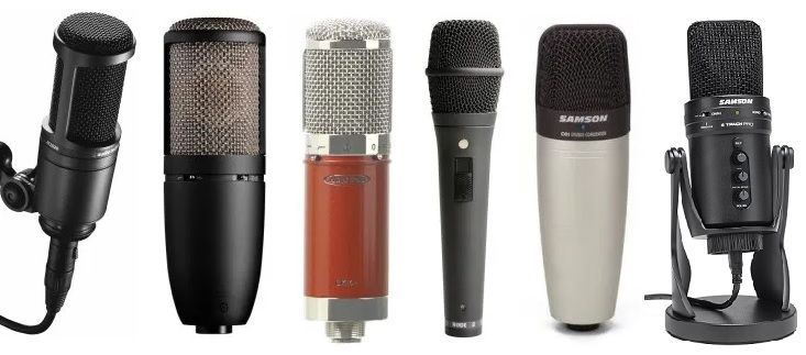 Condenser mics under $200 is a decent price-range
